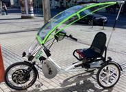 Zwischen Fahrrad und Auto: Lizenzsystem Elfit vermarktet Elektro-Dreirad