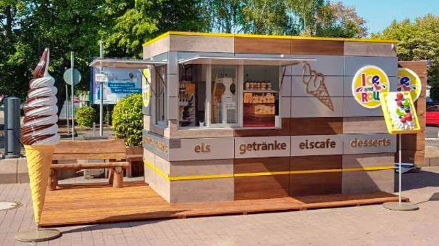 Im Sommer Eis, im Winter Baumkuchen: Ice and Roll bietet Franchise-Modell für stationäre und mobile Eisdielen