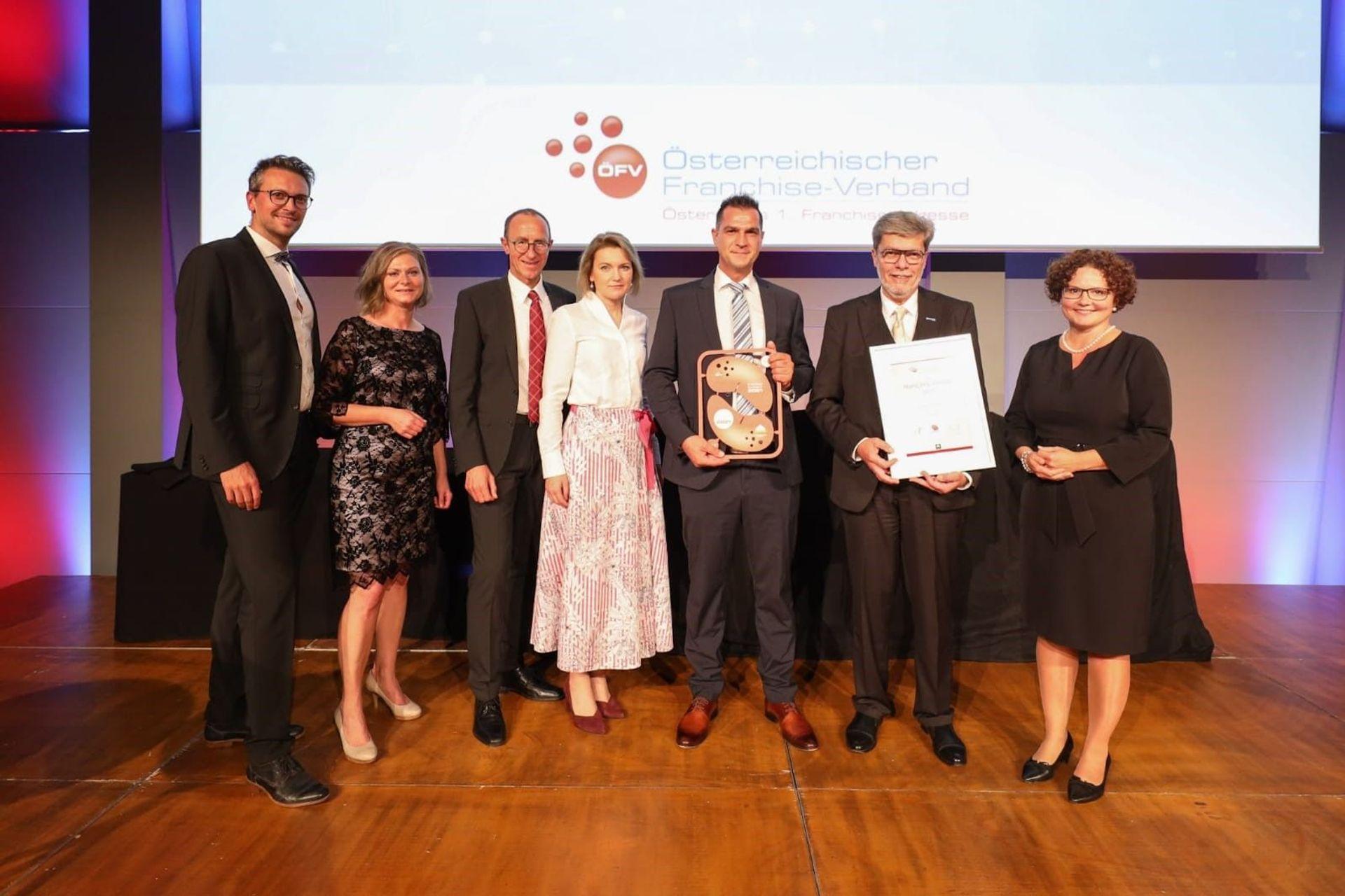 Österreichische Franchise-Awards 2021: ÖFV zeichnet Unimarkt als Franchise-System des Jahres aus
