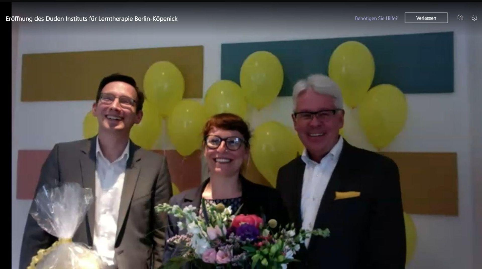 Online-Eröffnung des Duden Instituts für Lerntherapie Berlin-Köpenick
