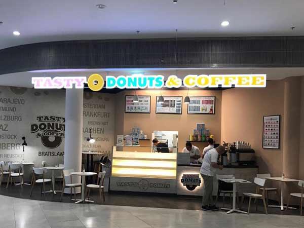 Tasty Donuts & Coffee: Neue Shops in Dortmund und Bratislava
