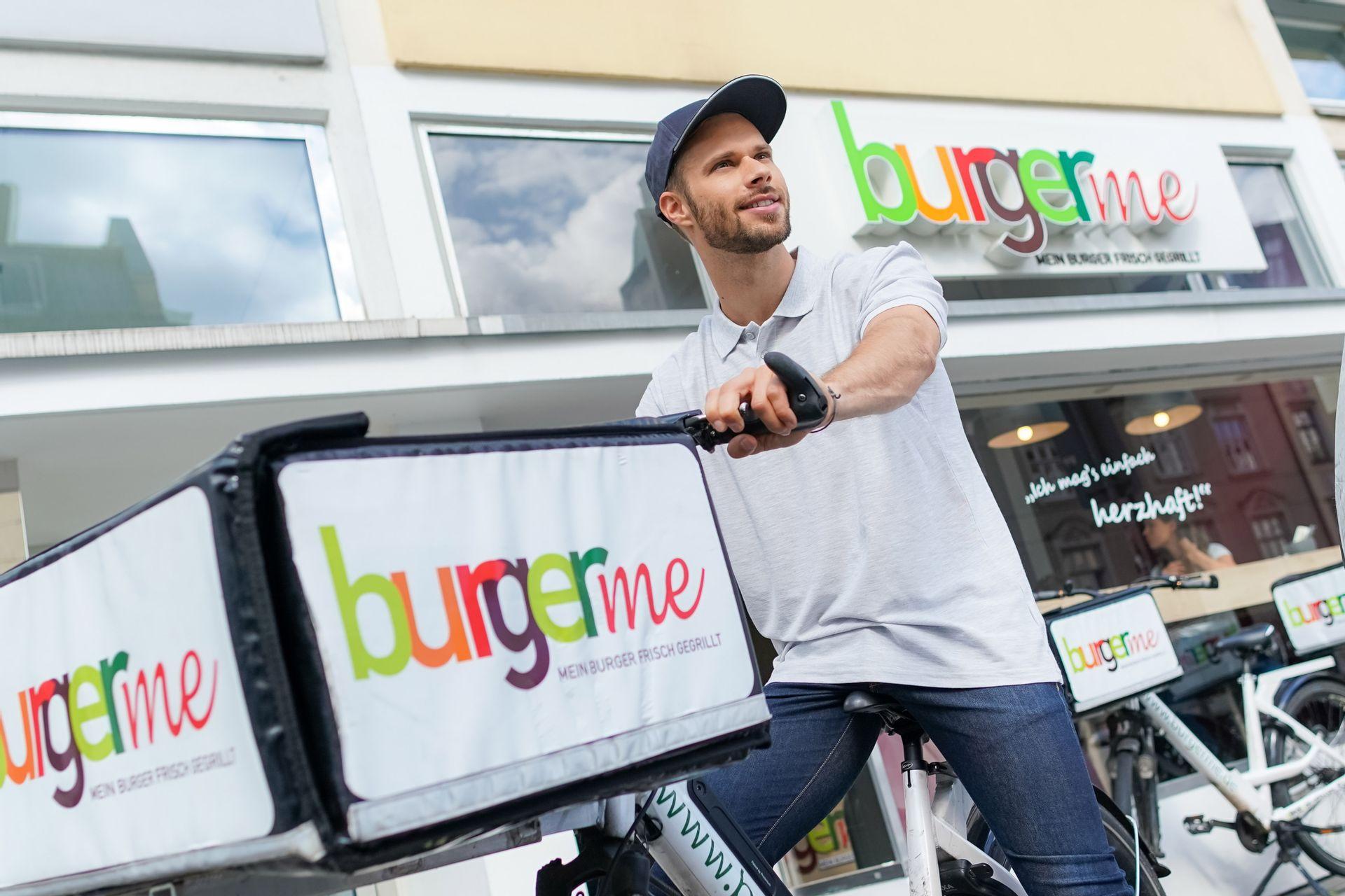 Delivery-Franchise-System Burgerme plant 50 neue Standorte bis Jahresende
