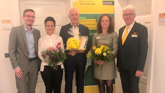 """Duden Institut für Lerntherapie: """"Großer Preis des Mittelstandes"""" und neuer Standort"""