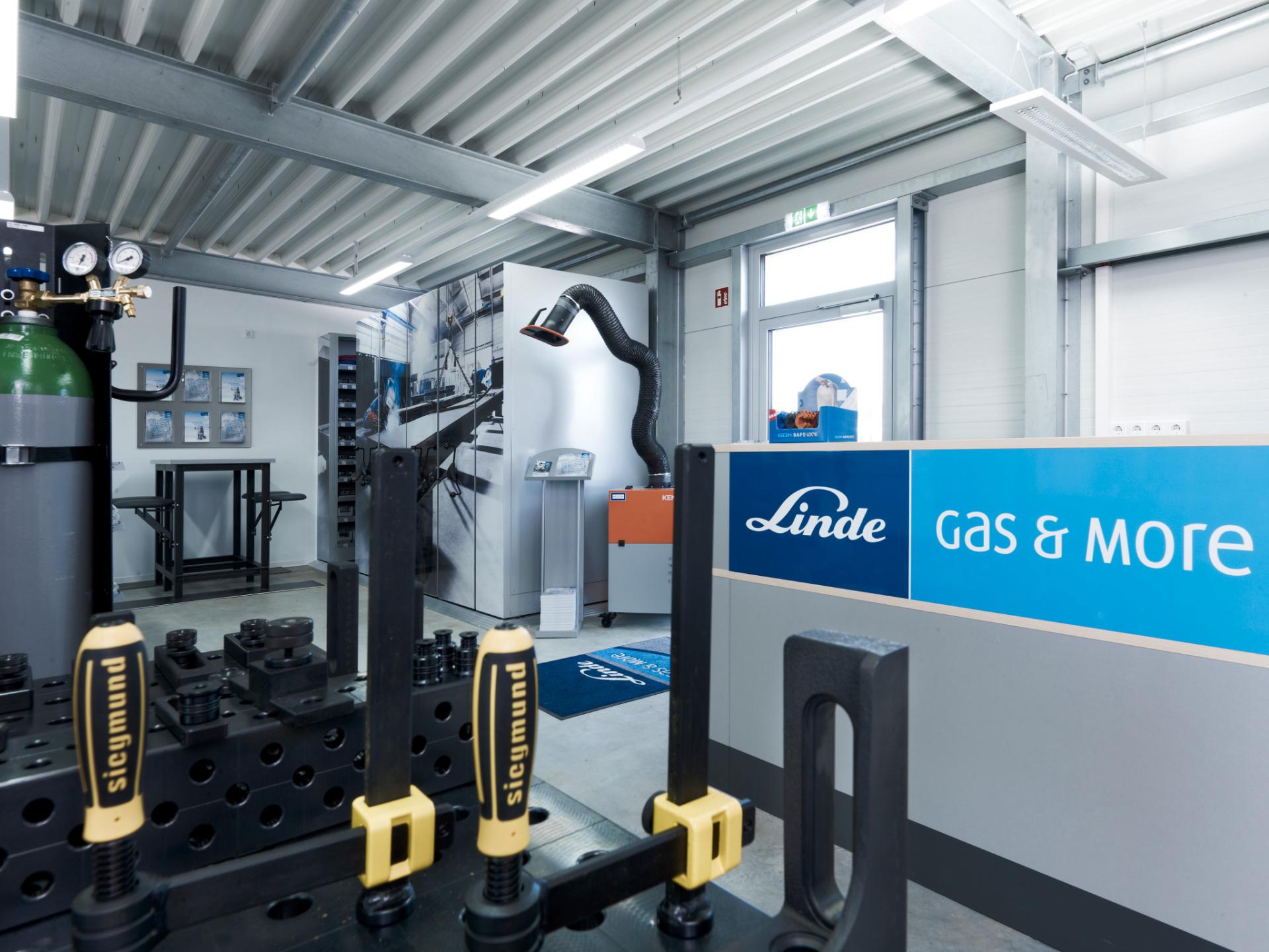 Linde Gas & More: Aktuell vakante Standorte
