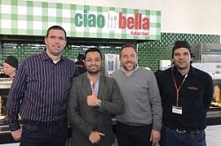 Neues Betriebsrestaurant: Franchise-Gastronomie Ciao Bella kooperiert mit Aramark