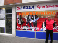 Legea-Champions-Point: Erster Franchise-Standort eröffnet