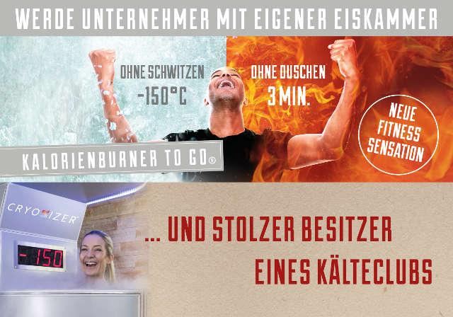 Erfolgreiche Franchisegründer: Cryosizer wächst schnell mit Kältekammer-Konzept