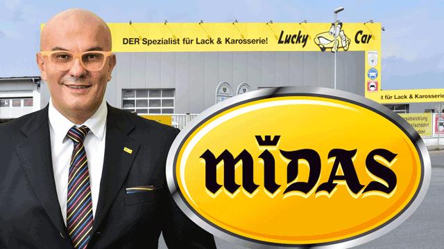 Franchise-System Lucky Car wächst durch Midas-Übernahme