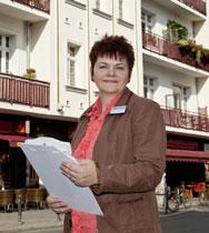 Erfolgreich mit ERA: Immobilienmaklerin Heidi Buttgereit in Berlin