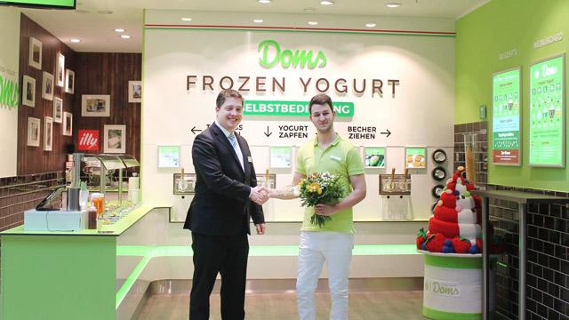 Doms Frozen Yogurt eröffnet zweiten Standort
