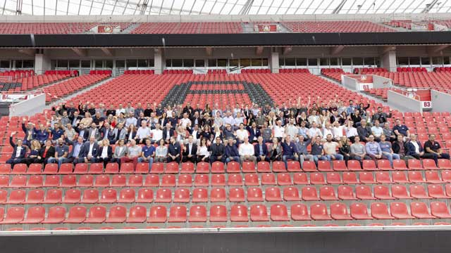 Franchise-System Kieser Training: Partnertreffen in der BayArena