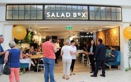 Salad Box eröffnet erstes irisches Restaurant in Cork, Douglas, Irland