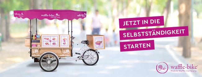 Mit dem Waffle-Bike den Streetfood-Markt erobern!