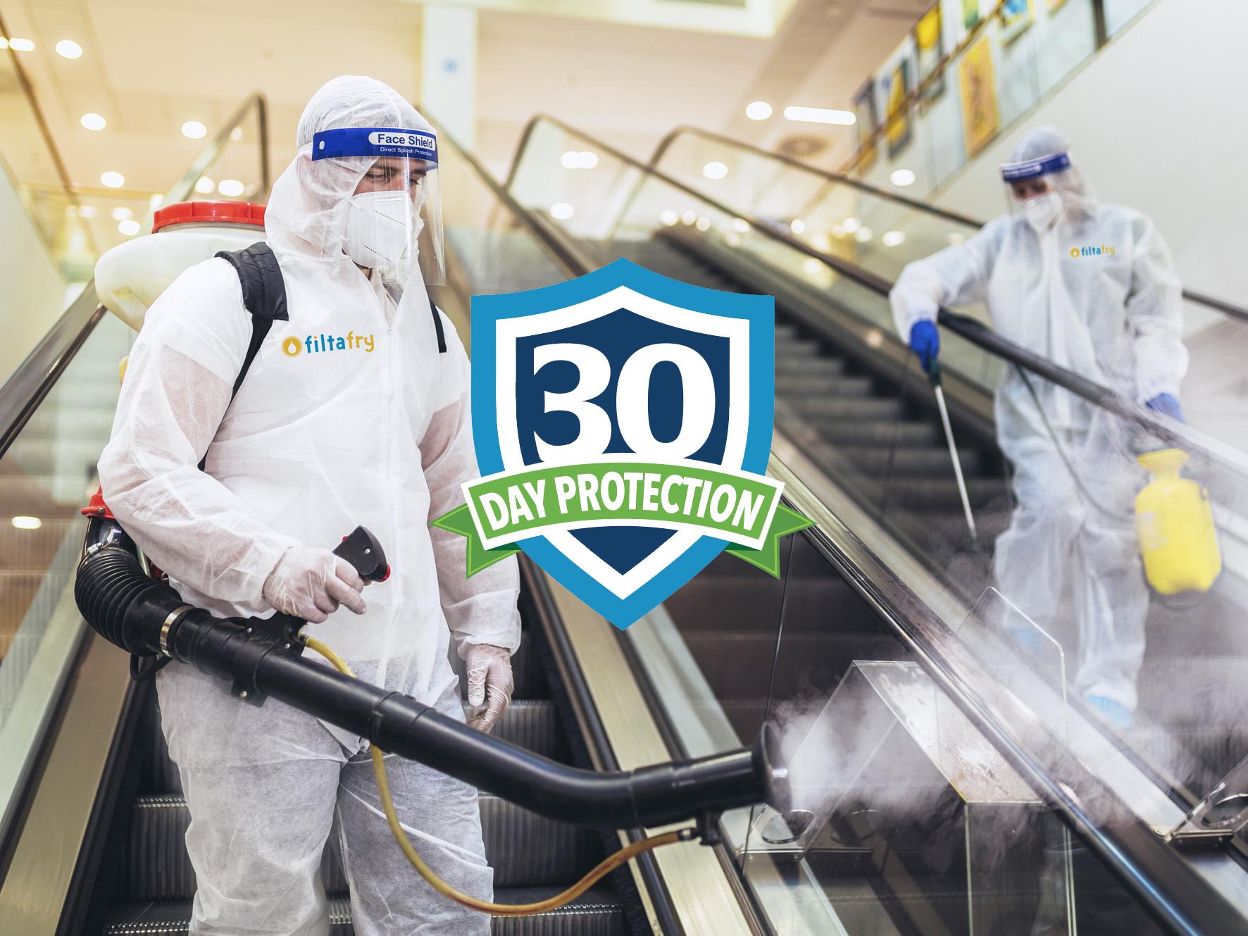 Desinfektion ohne Chemie: Franchisesystem Filtafry erweitert Angebot