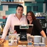Selbstständig in der Systemgastronomie: Natascha und Christian Arz sind Franchise-Partner der san francisco coffee compa