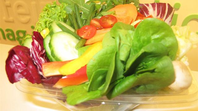 Gastronomie-System Grünzeugs mit neuem Standort