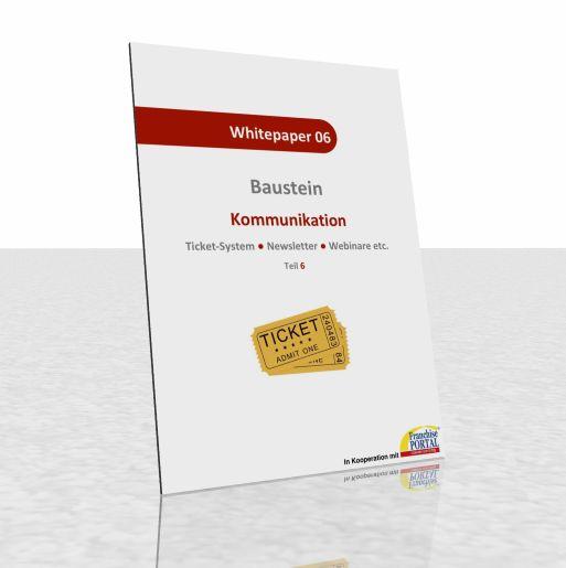 Whitepaper: Kommunikation – Ticket-System, Newsletter, Webinare, etc.
