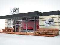 Gastronomie-Konzept Containerbar stellt sich in der Virtuellen Franchise-Messe vor