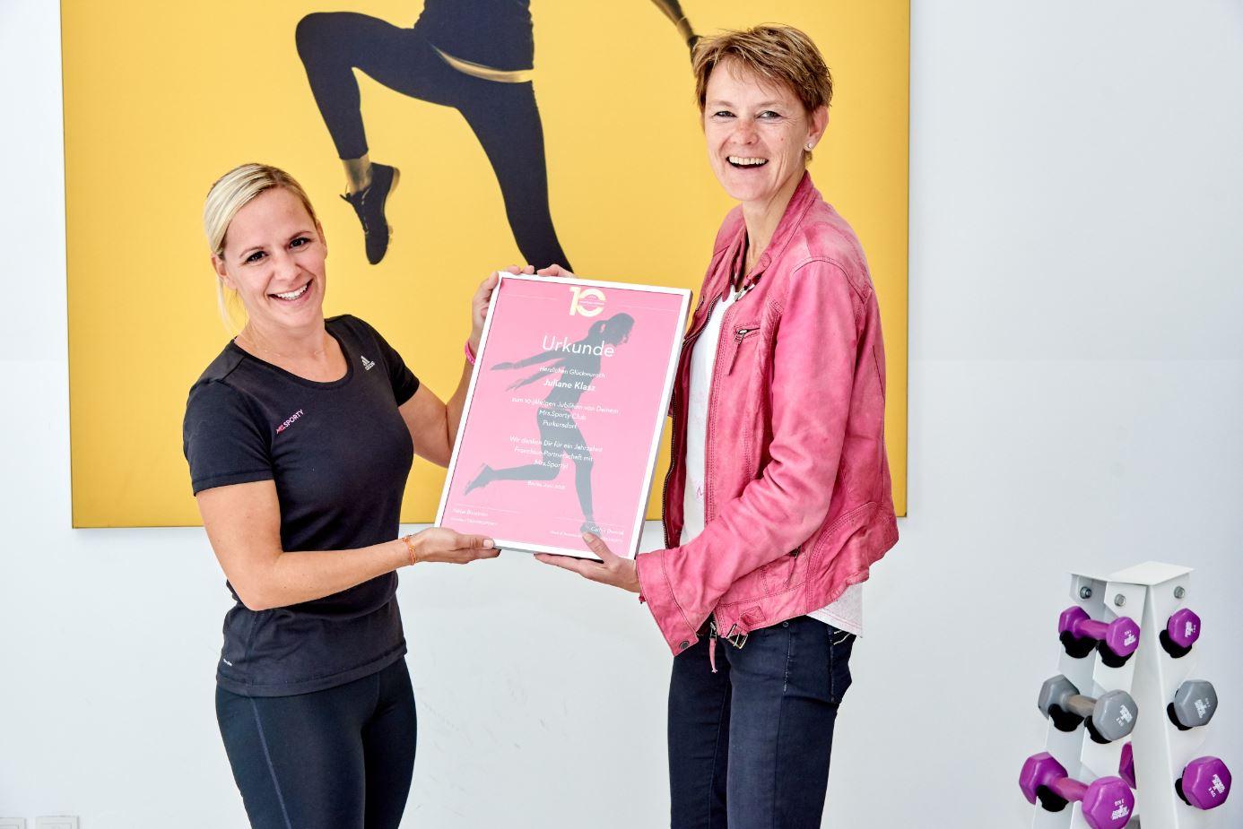 10 Jahre Erfolg: Mrs.Sporty feiert Jubiläum in Österreich