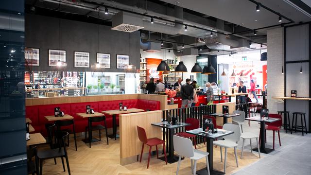 Franchise-System Segafredo Espressobar jetzt siebenmal in München