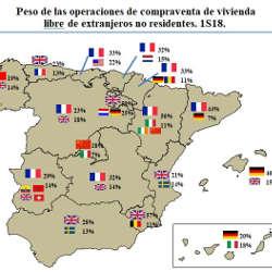 Immobilienmarkt Spanien - Ausländeranteil steigt weiterhin