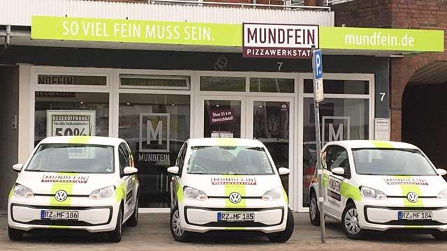 Lieferservice-Franchise-System Mundfein Pizzawerkstatt meldet sattes Umsatzplus