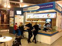 Gastronomie-Franchisesystem für gesunde Ernährung: Dr Bardadyn Cocktail & Salad Bar stellt sich vor