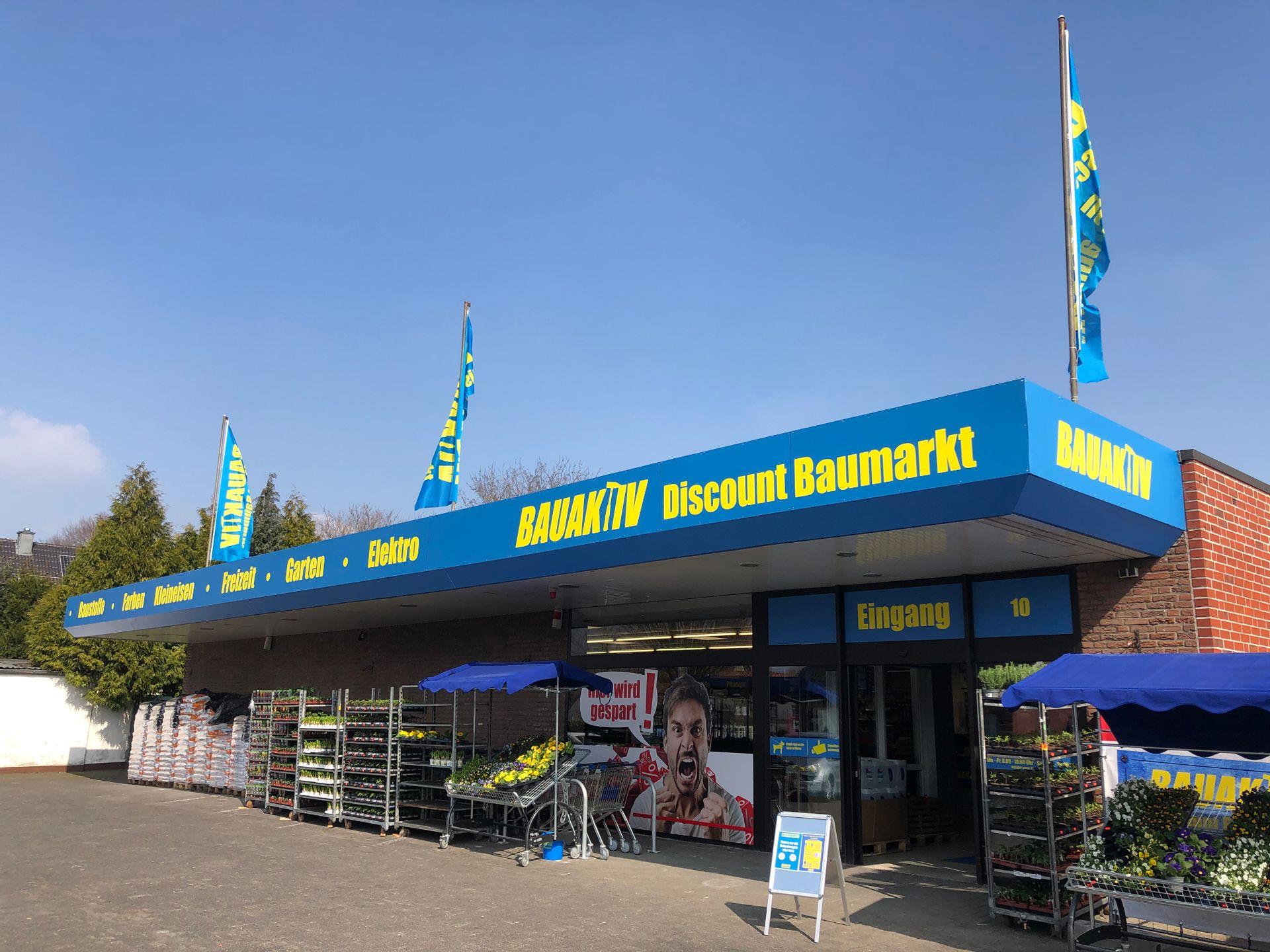 BAUAKTIV Discount Baumarkt in Schöppingen eröffnet