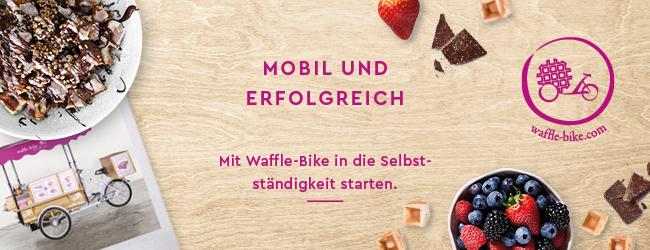 Waffle-Bike: Erfahren Sie alles über die Franchisepartnerschaft mit der mobilen Waffelbäckerei!