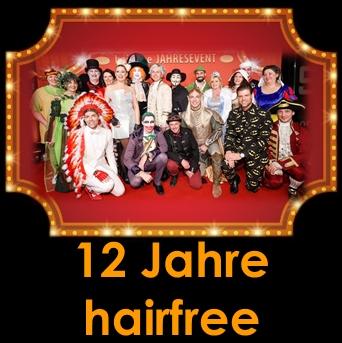 Einzigartig und Spektakulär - Viele prominente Gäste beim hairfree Jahresevent
