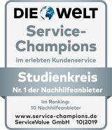 Studienkreis ist zum siebten Mal in Folge Service-Champion